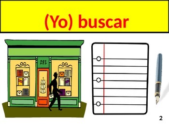 Direct Object Pronoun Practice with shopping and stores vocabulary