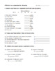 Direct Object Pronoun Spanish Worksheet