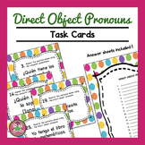 Direct Object Pronoun Task Cards