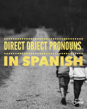 Direct Object Pronouns Interactive Notebooks Flap