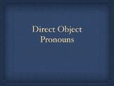 Direct Object Pronouns Keynote