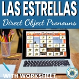 Direct Object Pronouns Las Estrellas Game or Review