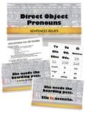 Direct Object Pronouns - Sentence Races