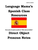 Direct Object Pronouns Spanish Apuntes