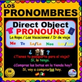Direct Object Pronouns in SPANISH - Projectable, personali