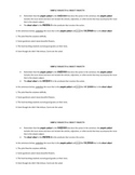 Direct Object and Simple Subject Exit Ticket or Quiz