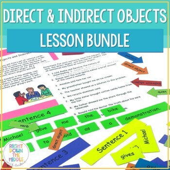 direct objects and indirect objects powerpoint handouts and activity. Black Bedroom Furniture Sets. Home Design Ideas