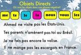 Direct Objects flipchart