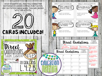 Direct Quotations Bundle