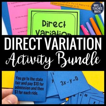 Direct Variation Bundle
