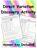 Direct Variation Discovery Activity