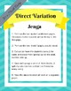 Direct Variation Jenga