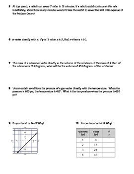Direct Variation Practice W... by Texas Math Teacher   Teachers ...