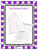 Direct Variation Practice2