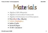 Direct Variation Unit in PDF - 36 Slides; VA SOL A.8