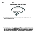 Direct and Indirect Characterization Making Inferences Assessment