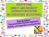 Direct and Indirect Characterization Mini-lesson and Group Activity