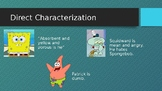 Direct and Indirect Characterization PowerPoint
