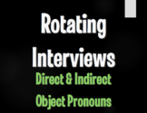 Spanish Direct and Indirect Object Pronoun Rotating Interviews