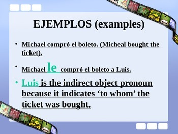 Direct and Indirect Object Pronouns