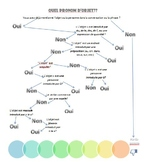 Direct and Indirect Object Pronouns - Flowchart and Practice Sheet