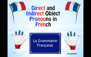 Direct and Indirect Object Pronouns in French - A Complete Guide.