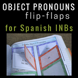 Direct and Indirect Object Pronouns in Spanish for Interactive Notebooks