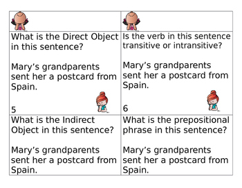 Direct and Indirect Object Scoot