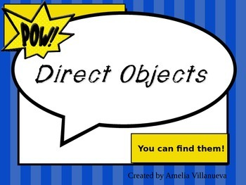 Direct and Indirect Objects Made Easy!