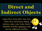 Grammar Fun!: Direct and Indirect Objects; Predicate Adjec