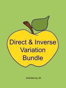 Direct and Inverse Variation Bundle