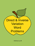 Direct and Inverse Variation Word Problems