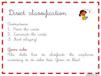 Direct and indirecto classification