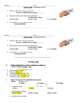 Direct object pronouns basic notes and written practice