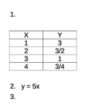 Direct vs Inversely Proportional Rotation Stations