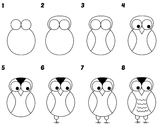 Directed Draw Owl