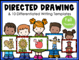 Directed Drawing and Writing Autumn Fall