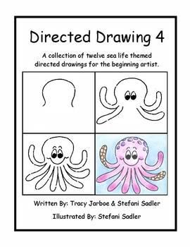 Directed Drawing 4: Sealife