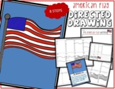 4th of July Independence Day AMERICAN FLAG Directed Drawin
