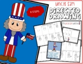4th of July Patriotic UNCLE SAM Directed Drawing & Writing