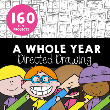 Directed Drawing - A Whole Year Bundle