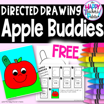 Directed Drawing ~ Apple Buddies ~ *FREEBIE*
