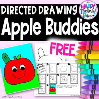 Directed Drawing ~ Apple Buddies ~ *FREEBIE*