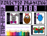 Directed Drawing - April Themed Bundle (Easter, Spring)
