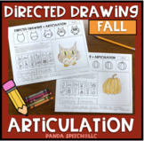Directed Drawing Articulation: Fall Theme