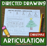 Directed Drawing Articulation: Christmas Theme