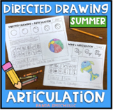 Directed Drawing Articulation: Summer Theme