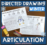 Directed Drawing Articulation: Winter Theme