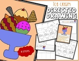 BOWL OF ICE CREAM Directed Drawing & Writing Prompts