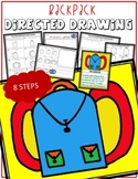 SCHOOL BACKPACK Directed Drawing & Writing Prompts